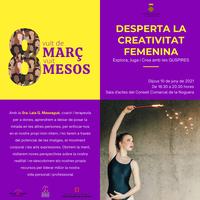 """Conferència """"Desperta la creativitat femenina. Explora, juga i crea amb les GUSPIRES"""" amb laSra. Laia G. Massagué"""