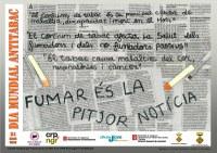 Lliurament de premis del 3r Concurs de Cartells Antitabac de la Noguera
