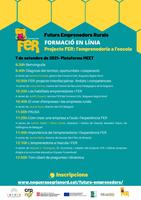 Sessió formativa sobre el Projecte Futurs Emprenedors Rurals