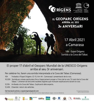 Celebració del 3r aniversari delGeoparcMundial UNESCO Orígens