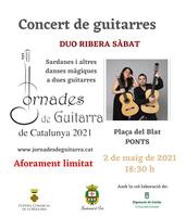 Concert de guitarres de DUO RIBERA SÀBAT