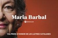 Lliurament del 53è Premi d'Honor de les Lletres Catalanes d'Òmnium Cultural