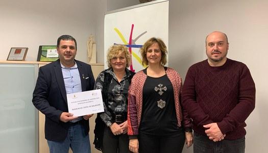 L'Associació L'Estel de Balaguer rep un any més el donatiu del Berenar Solidari del Festival d'Astronomia del Parc Astronòmic Montsec