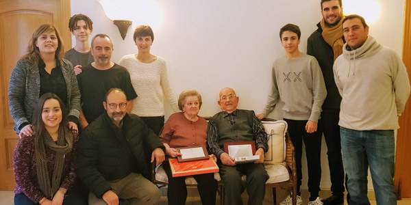 Avi centenari a Vallfogona de Balaguer