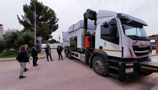 El Consell Comarcal de la Noguera incorpora un camió més al servei de recollida de residus