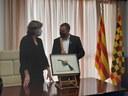 Donació d'una pintura de l'artista Benet Rossell i Sanuy al Consell Comarcal de la Noguera