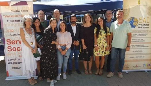 El Consell Comarcal de la Noguera, a la 18a Fira d'Entitats de Balaguer i Comarca