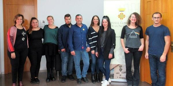 El Consell Comarcal de la Noguera contracta 7 joves en pràctiques del Programa de Garantia Juvenil