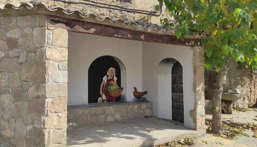 El Consell Comarcal de la Noguera reivindica el paper de la dona en el món rural amb una intervenció artística a Vilanova de l'Aguda