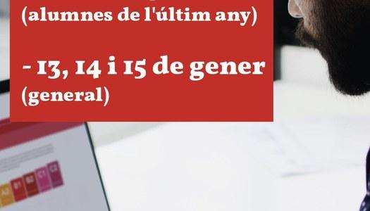 El Consorci per a la Normalització Lingüística obre inscripcions als cursos d'hivern amb un sistema renovat d'atenció a l'usuari