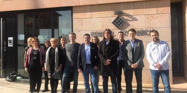 Els Consells Comarcals de la Noguera, el Segrià i l'Urgell reclamen conjuntament més finançament per als Serveis Socials