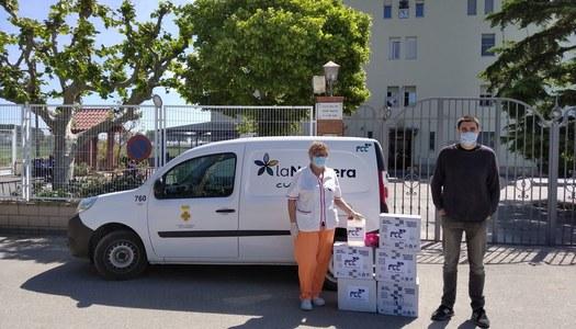 FCC Medio Ambiente, SA dona solidàriament material de protecció a centres residencials de la Noguera