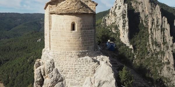 Finalitzades les obres de l'ermita de la Pertusa a Àger