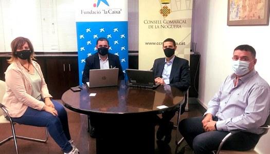 """La Fundació """"la Caixa"""" i el Consell Comarcal de la Noguera renoven el conveni de col·laboració"""