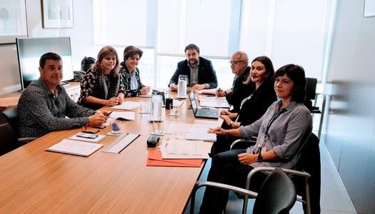 La Noguera i el Segrià sol·liciten al Departament de Treball, Afers Socials i Famílies  més finançament per als Serveis Socials