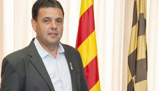 Miquel Plensa, president del Consell Comarcal, explica l'activitat de l'ens durant l'estat d'alarma