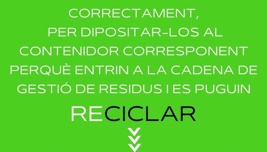 A la Noguera SELECCICLEM! #selecciclar #selerecycle #sélectorecycler