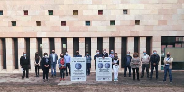 Els alcaldes i les alcaldesses dels municipis de la Noguera amb cel Starlight
