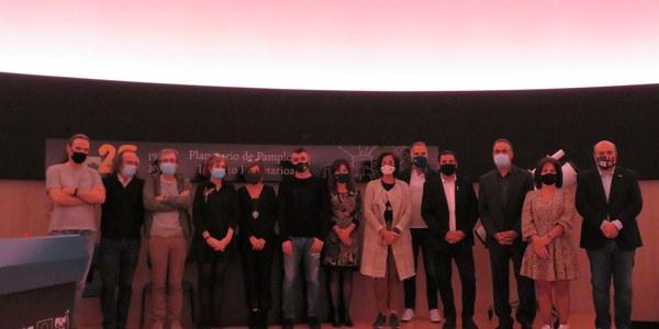 """Es presenta a Pamplona el documental per a planetaris """"Pirineus, La Nuit"""", del projecte europeu del mateix nom del qual és soci el Consell Comarcal de la Noguera"""