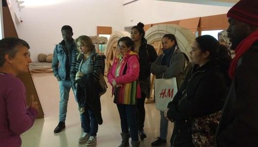 Visita guiada al Museu de la Noguera dels alumnes del curs bàsic de català del CPNL