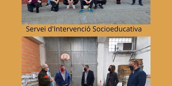 Visita al Servei d'Intervenció Socioeducativa (SIS) i al projecte Àgape, Aliments Solidaris de la Noguera de Balaguer