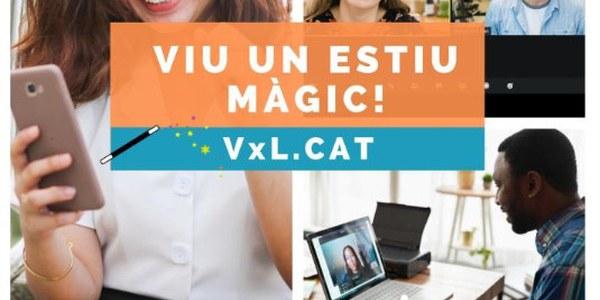 Viu la màgia de l'estiu amb una parella lingüística del Voluntariat per la llengua!