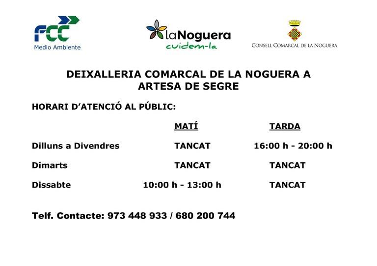 horari deixalleria ARTESA DE SEGRE(2).jpg