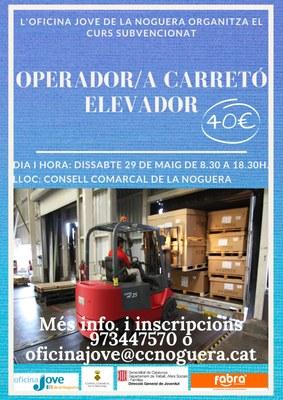 CURS DE OPERADOR/A DE CARRETÓ ELEVADOR
