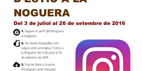 Concurs Instagram Estiu Noguera 2016
