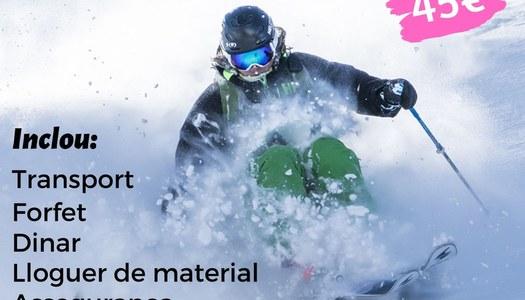 Esquiada Jove Port Ainé 2020