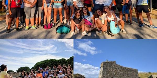 La trobada de joves de la Noguera i l'Alt Empordà a Figueres tanca el primer Encomarca't