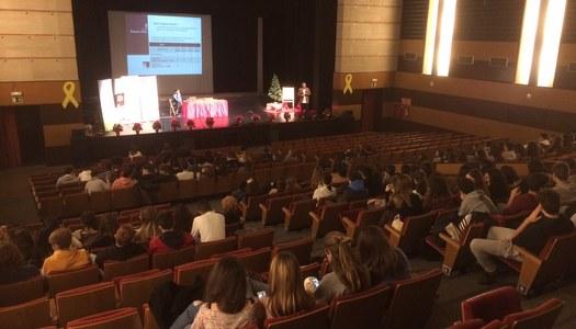 Trobada d'alumnes de la Noguera a Balaguer per orientar-se sobre el seu futur acadèmic