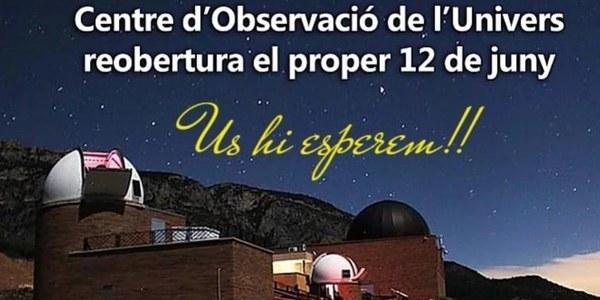 Obertura del Parc Astronòmic Montsec