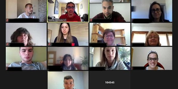 Sessió en línia del curs