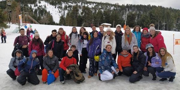 Èxit de la 2a Esquiada Jove de la Noguera a Port Ainé