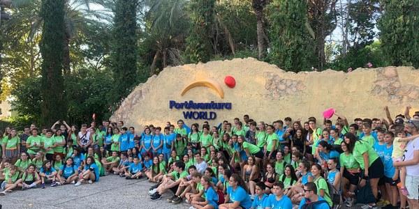Final del projecte JOVA 2019: 240 joves de la Noguera a Portaventura