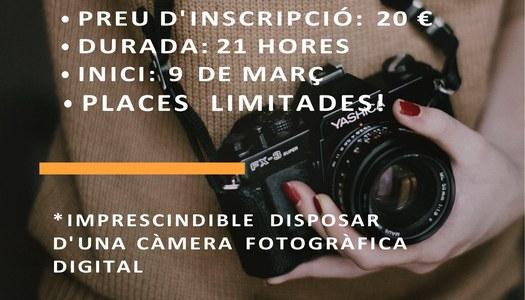 L'Oficina Jove de la Noguera organitza un curs de fotografia digital