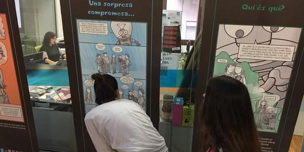 """L'Oficina Jove inaugura l'exposició """"Sota pressió"""", vinculada a les addiccions i les conductes de risc"""