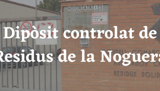 Dipòsit Controlat de Residus Municipals de la Noguera