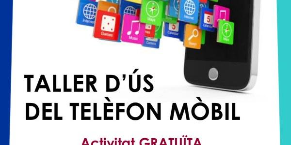 Taller d'ús de telèfon mòbil a Àger