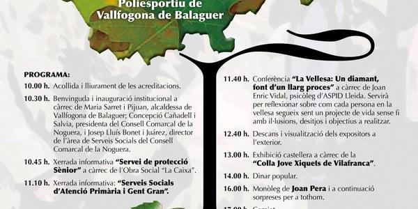 13a Trobada de la Gent Gran de la Noguera el 9 de juny a Vallfogona de Balaguer