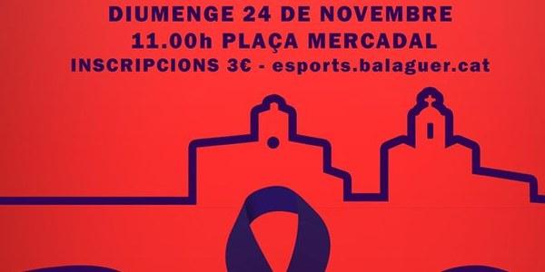 8a edició de la Cursa de la Dona a Balaguer