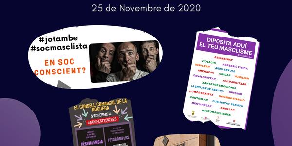 Activitats al voltant del 25 de novembre