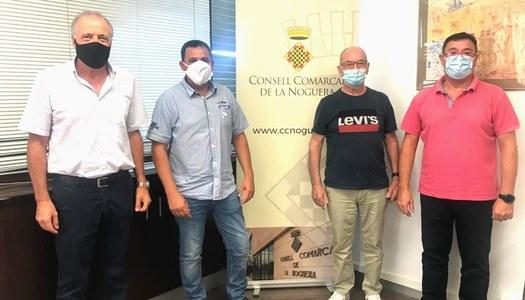 Càritas Parroquial, Creu Roja i el Consell Comarcal de la Noguera renoven el conveni de col·laboració en el projecte Àgape, Aliments Solidaris de la Noguera