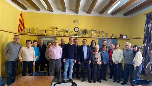 Catorze participants al taller per millorar la memòria fet a Penelles