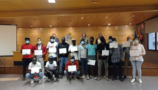 """Cloenda del curs """"Alfabetització en llengua catalana"""" a Térmens"""