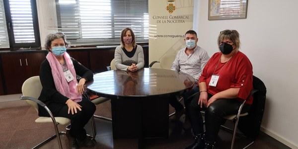 El Consell Comarcal de la Noguera reforça els Serveis Socials a Artesa de Segre i Ponts amb dos informadores socials