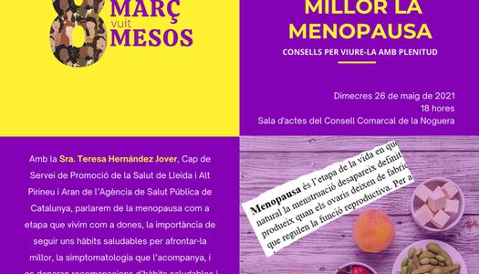 """Continua la campanya """"8 de març, 8 mesos"""" a la Noguera"""