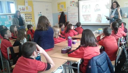 El Servei d'Atenció a les Dones participa en el Dia Escolar de la No-Violència i la Pau a les escoles de la Noguera