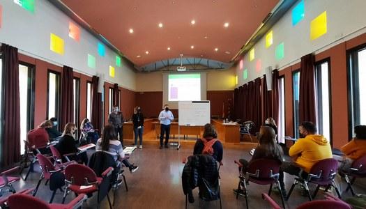 Els i les professionals dels Serveis Socials del Consell Comarcal de la Noguera es formen en treball comunitari